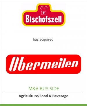 Tombstone image for Bischofszell Nahrungsmittel AG has acquired Assets of Obermeilen