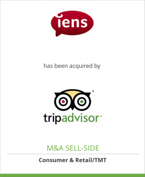 Tombstone image for IENS has been acquired by TripAdvisor