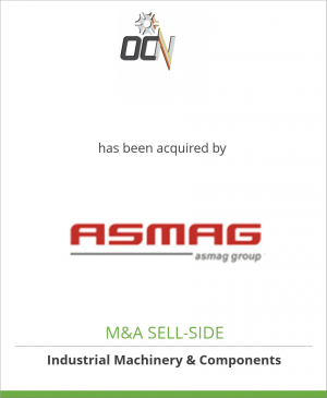Tombstone image for OCN SpA has been acquired by ASMAG GmbH
