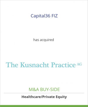 Tombstone image for Capital36 FIZ has acquired The Kusnacht Practice AG