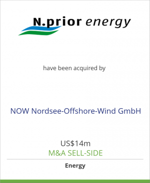 Tombstone image for N.prior energy and Prokon Nord have been acquired by NOW Nordsee-Offshore-Wind GmbH