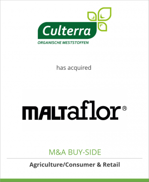 Tombstone image for Culterra Holland B.V. has acquired Maltaflor International GmbH