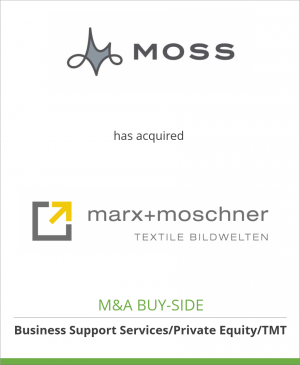 Tombstone image for Moss Inc. has acquired Marx & Moschner GmbH