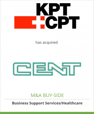 Tombstone image for KPT has acquired CENT Systems AG