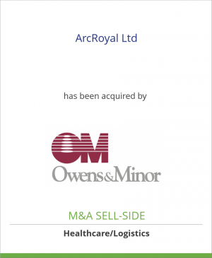 Tombstone image for ArcRoyal Ltd has been acquired by Owens & Minor, Inc.