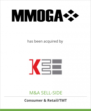 Tombstone image for MMOGA, Ltd. has been acquired by KEE