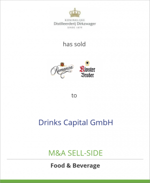 Tombstone image for Royal Dirkzwager has sold selected liquor brands to Drinks Capital GmbH