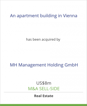 Tombstone image for An apartment building in Vienna has been acquired by MH Management Holding GmbH