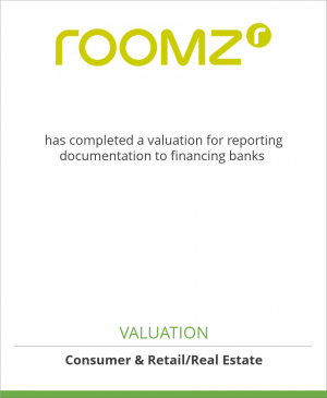 Tombstone image for roomz Graz has completed a valuation for reporting documentation to financing banks