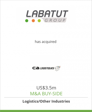 Tombstone image for Labatut Group has acquired CA Logistiques