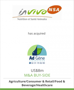 Tombstone image for InVivo NSA has acquired AdGène