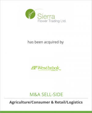 Tombstone image for Sierra Flower Trading Ltd. has been acquired by Westbrook Floral Ltd.
