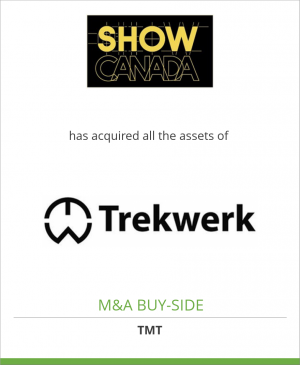 Tombstone image for Show Canada Inc. has acquired all the assets of Trekwerk B.V.