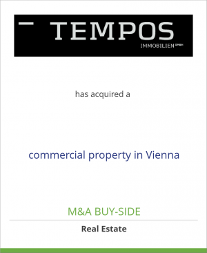 Tombstone image for Tempos Floridos9 GmbH has acquired a commercial property in Vienna