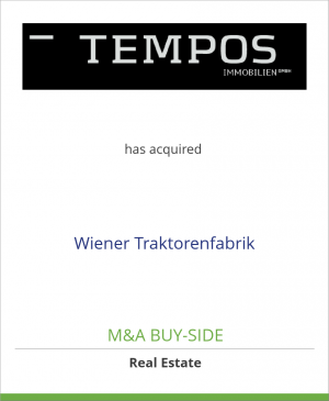 Tombstone image for Tempos Vermögensverwaltung GmbH has acquired Wiener Traktorenfabrik