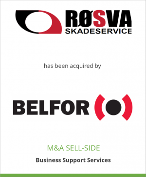 Tombstone image for Roesva Skadeservice has been acquired by BELFOR Property Restoration