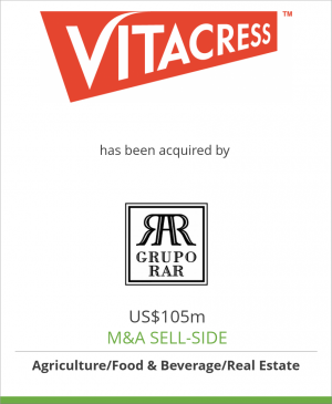 Tombstone image for Vitacress Salads Limited has been acquired by RAR Group
