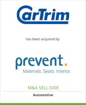 Tombstone image for Car Trim GmbH has been acquired by Prevent Group