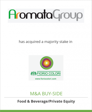 Tombstone image for AromataGroup has acquired a majority stake in Fiorio Colori SpA
