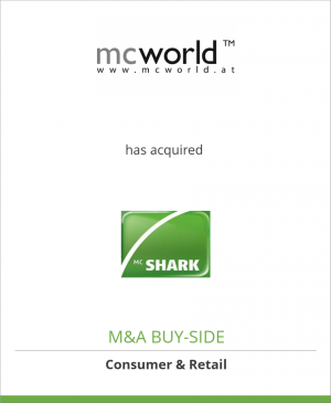 Tombstone image for mcworld computervertriebs GmbH has acquired Mc Shark Multimedia AG