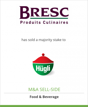 Tombstone image for Bresc B.V. has sold a majority stake to Hügli Holding AG