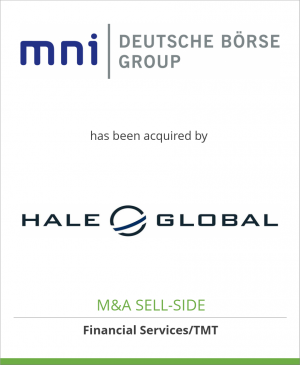 Tombstone image for Market News International, Inc.  has been acquired by Hale Global