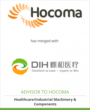 Tombstone image for Hocoma AG has merged with DIH International