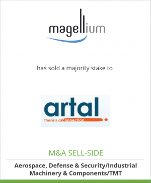 Tombstone image for Magellium has sold a majority stake to ARTAL Technologies