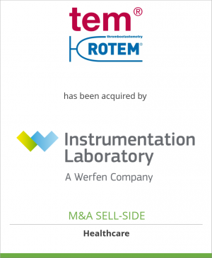 Tombstone image for Tem Group has been acquired by Instrumentation Laboratory