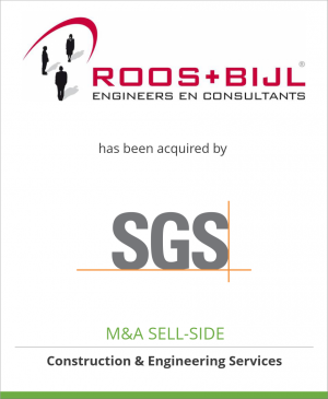 Tombstone image for Roos+Bijl has been acquired by SGS