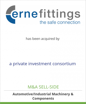 Tombstone image for Erne Group GmbH has been acquired by a private investment consortium