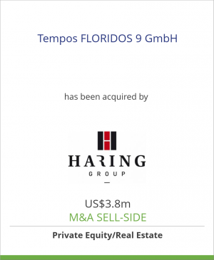 Tombstone image for Tempos FLORIDOS 9 GmbH has been acquired by Haring Group Bauträger GmbH