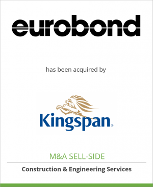 Tombstone image for Eurobond Laminates Limited  has been acquired by Kingspan Plc