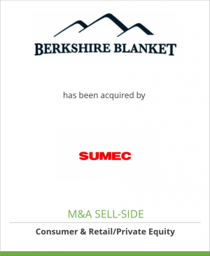 Tombstone image for Berkshire Blanket, Inc. has been acquired by SUMEC Textile Light Industry