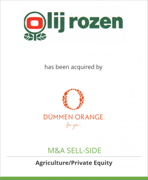 Tombstone image for Olij Rozen International BV has been acquired by Dümmen Orange