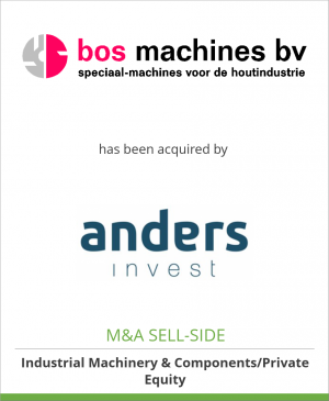 Tombstone image for Bos Machines bv has been acquired by Anders Invest