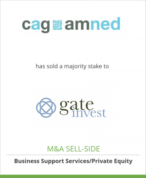 Tombstone image for CAG AMned has sold a majority stake to Gate Invest