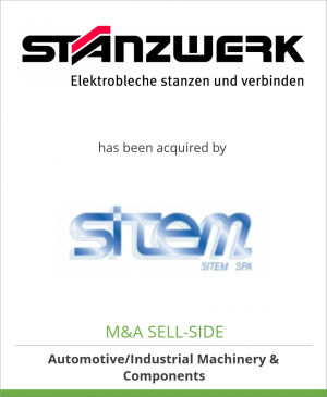 Tombstone image for Stanzwerk AG has been acquired by SITEM S.p.A.