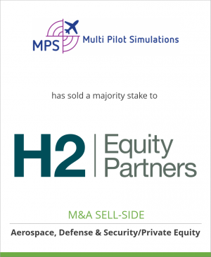 Tombstone image for Multi Pilot Simulations has sold a majority stake to H2 Equity Partners