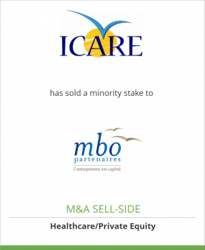 Tombstone image for Laboratoire ICARE has sold a minority stake to MBO Partenaires