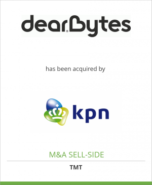 Tombstone image for DearBytes B.V. has been acquired by Koninklijke KPN N.V.