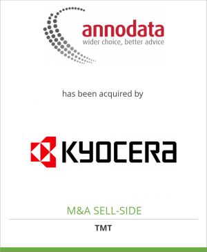 Tombstone image for Annodata Limited  has been acquired by KYOCERA