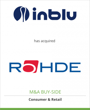 Tombstone image for Condor Trade (Inblu) has acquired Rohde Shoes