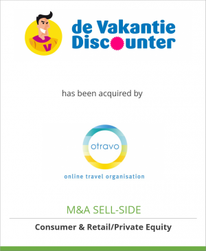 Tombstone image for dé VakantieDiscounter has been acquired by Otravo