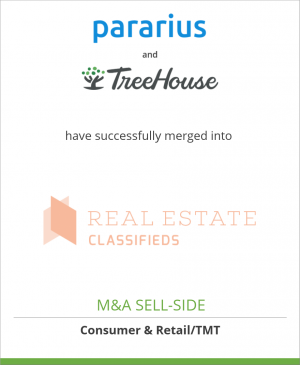 Tombstone image for Pararius and TreeHouse have successfully merged into Real Estate Classifieds (REC)