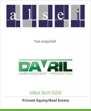 Tombstone image for Alsei has acquired Davril