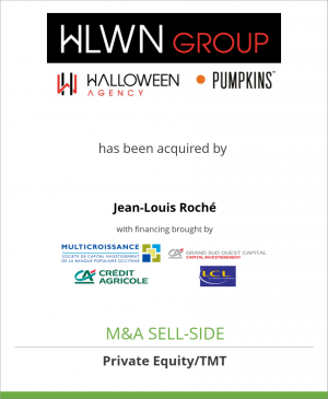 Tombstone image for HWLN Group has been acquired by Jean Louis Roché