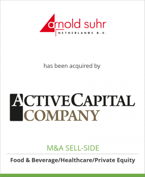 Tombstone image for Arnold Suhr Netherlands B.V. has been acquired by Active Capital Company