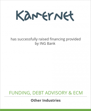 Tombstone image for Kamernet has successfully raised financing provided by ING Bank