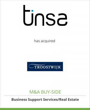 Tombstone image for Tinsa Tasaciones Inmobiliarias has acquired Troostwijk Groep B.V.